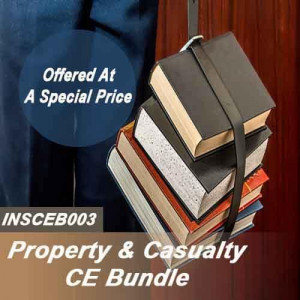 Florida: 24 hr CE - 2-20 or 20-44 Property and Casualty Complete CE Bundle (INSCEB003FL24)